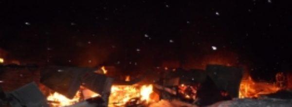 В прошлом году в Чебоксарском районе горели 18 бань