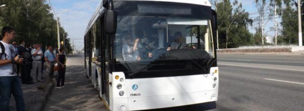 В Чувашии протестирован троллейбус нового поколения