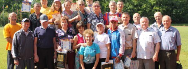 Команда Абашевского сельского поселения заняла первое место в спартакиаде «Спортивное долголетие»