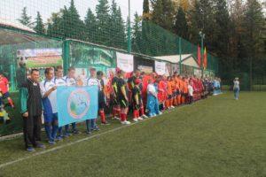 Футбольные команды психоневрологических интернатов на специальной Олимпиаде в Сочи